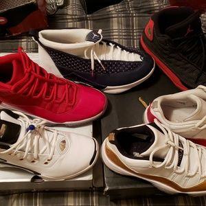169733b6b4b Men s All Gold Jordans Shoes on Poshmark